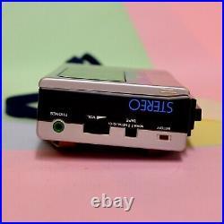 Sony Walkman WM 8 Stereo Cassette Player Retro Classic Working Refurbished
