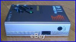 Sony Walkman WM-DD 2 SILVER, VERY GOOD CONDITION, 100% RESTORED, NO CLICKING