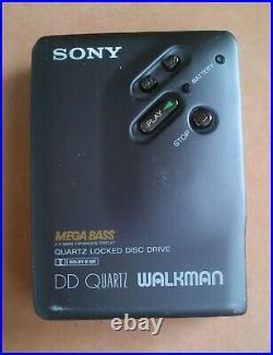 Sony Walkman WM-DD 33 BROWN, GOOD CONDITION, 100% RESTORED, + MANUAL