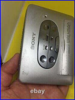Sony Walkman WM-EX550 Cassette Player NEW BELT REFURBISHED