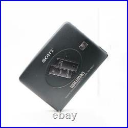 Sony Walkman WM-EX642 Cassette Player Blakc TESTED Working Japan FF REW MU0024