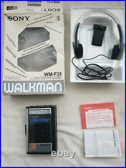 Sony Walkman WM-F31 AM/FM Radio & Cassette Player Refurbished Boxed