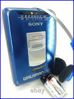 Sony Walkman WM-FX181 AM FM Tuner Radio Personal Portable Cassette Tape Player