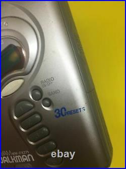 Sony, Walkman WM-FX271 AM / FM / Cassette Player Grey/Silver Refurbished