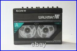 Sony Walkman WM-W800 Serviced with New Belt and gears and Playing Perfectly