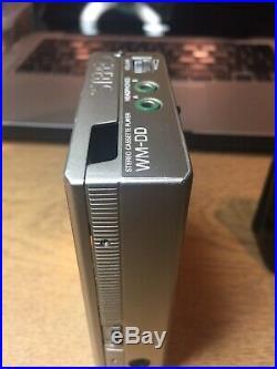 Sony walkman cassette player WM-DD