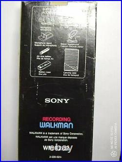 Sony walkman cassette player recorder WM-R202
