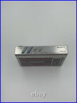 Sony walkman wm-f10 Refurbished SEE DESCRIPTION VINTAGE RARE