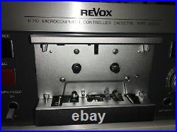 Studer ReVox B710 Cassette Player Still In Sealed Box
