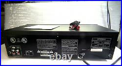 Super Nice Pioneer CT-W205R Dual Cassette Deck withAccessories Plug & Play Look