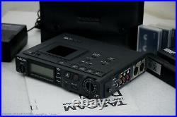 TASCAM DA-P1 Professional Portable DAT Recorder Top-Zustand+Zubehör! 1J. Garantie