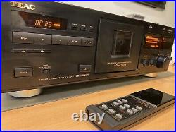 TEAC V-3000 3 Head Cassette Deck Player Dolby BC MPX Orig. REMOTE & BOX JAPAN