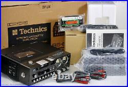 TECHNICS RS-686 DS / 686D Portable Cassettedeck inkl. Zubehör! NOS/OVP! RaR