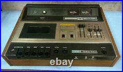 TOP! Akai Gxc-46d Wooden SERVICED WORKING Cassette Tape Player Deck Hifi Stereo