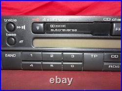 VW Gamma IV Vintage 90s Cassette Car Stereo w Bluetooth Upgrade Golf Passat