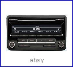 VW RCD 310 CD MP3 player, VW Golf MK6 car stereo headunit with radio code