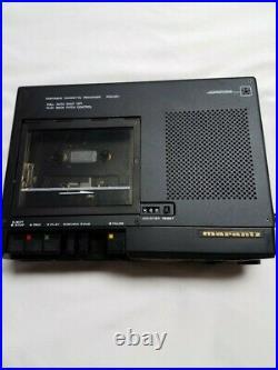 Very Clean Rebuilt Marantz PMD201 Full & 1/2 Speed Cassette Recorder