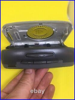 Vintage Aiwa Walkman TA166 Cassette Tape Player Radio REFURBISHED NEW BELT