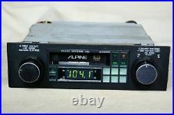 Vintage Alpine 7159 AM/FM cassette car stereo Lambo Ferrari BMW old rare
