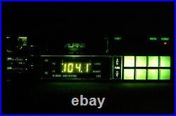 Vintage Alpine 7171 AM/FM cassette car stereo #9 Lambo Ferrari BMW old rare