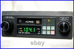 Vintage Alpine 7267 AM/FM cassette car stereo #3 Lambo Ferrari BMW old rare