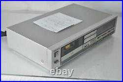 Vintage Dolby Technics Stereo Cassette Deck RS-M235x MX Tape Player SERVICED