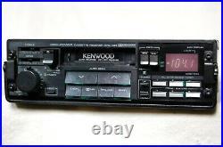 Vintage Kenwood KRC-434 AM/FM cassette car stereo #2 Lambo Ferrari BMW old rare