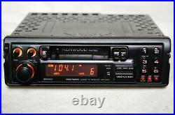 Vintage Kenwood KRC-630 AM/FM cassette car stereo withCD Changer Controls old rare