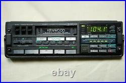 Vintage Kenwood KRC-838 AM/FM cassette car stereo Lambo Ferrari BMW old rare