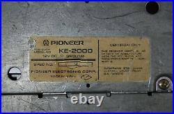 Vintage Pioneer KE-2000 AM/FM cassette car stereo #3 Chevy Ford Mopar old rare