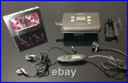Vintage Restored Cassette Walkman SONY WM-FX822 Good working