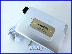 Vintage Restored SONY Cassette player WALKMAN WM-EX808 Good condition