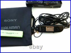 Vintage Restored SONY WALKMAN WM-EX88 Cassette Tape player Very good condition