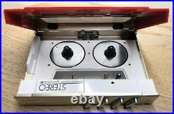 Vintage Sony WM-10 Walkman, Refurbished And Fully Functional