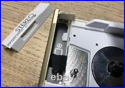 Vintage Sony WM-10 Walkman With Belt Clip, Refurbished And Fully Functional