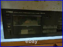 Yamaha Tc-920b Cassette Deck Player SERVICED WORKING Vintage Stereo Hifi